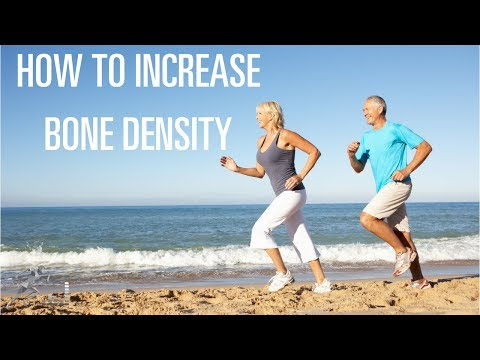 How to increase bone density