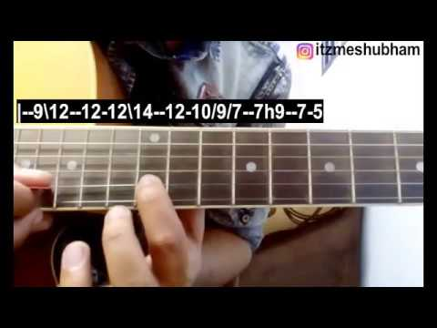 In Dino Dil Mera (Single String) Guitar Tabs Tutorial | Life In A ...