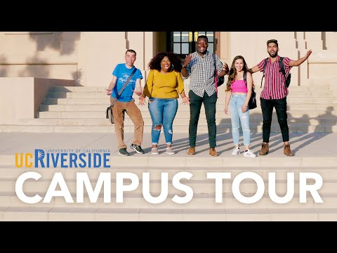 UC Riverside Campus Tour