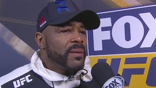Rashad Evans feels like he's 'fighting against himself' after loss