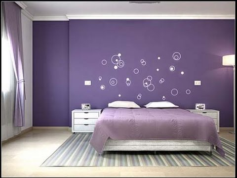 Colour design for bedroom