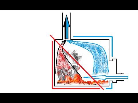 Печь длительного горения секрет Мастера / wood-burning stove sawnwood