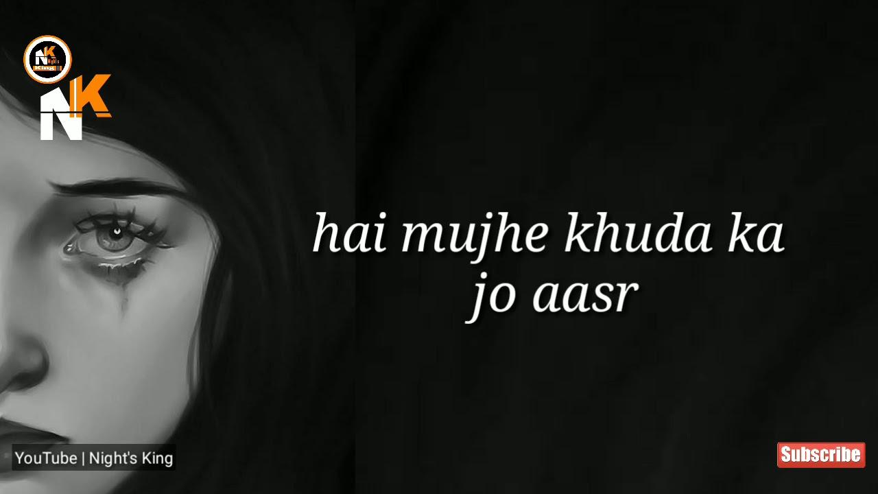 kabhi suni subah me ghoomna | urdu whatsapp video status | Night's King