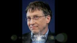 THE TOP TEN - I 10 Uomini più ricchi del mondo 2011/2012
