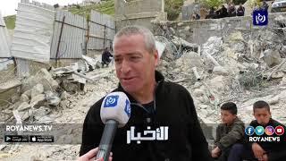 الاحتلال يهدم منازل ومنشآت في حي وادي ياصول (18-4-2019)