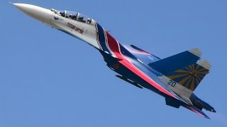Russian Knights Русские Витязи Russian Air Force  Air Show China 2014第十届中国国际航空航天博览会