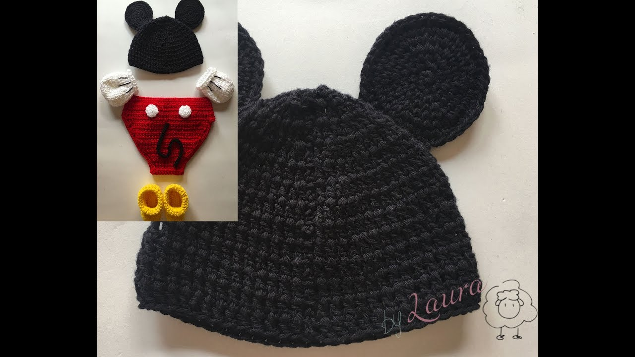 Mickey Design Baby Girl Crochet Photo Props Knitted Baby Hat Skirt ...   720x1280