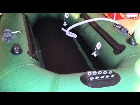 мелкие царапины на лодке пвх