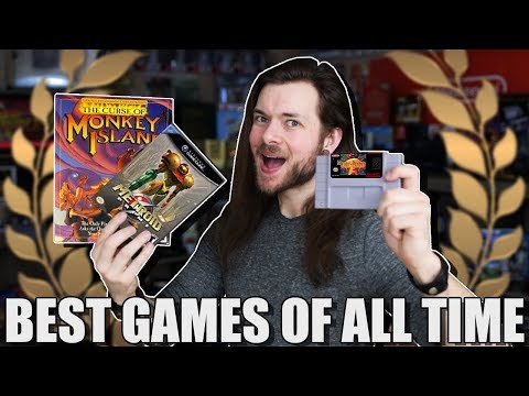 10 BEST Video Games Of All Time.