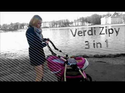 Коляска Verdi Zipy 3в1 / МАМИНЫ ПОМОЩНИКИ