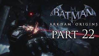 Batman: Arkham Origins Deadshot Boss - HD Gameplay Walkthrough Part 22