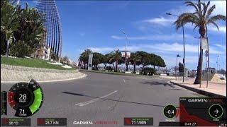 30 Minute Cycling Training Catalonia Spain Full HD