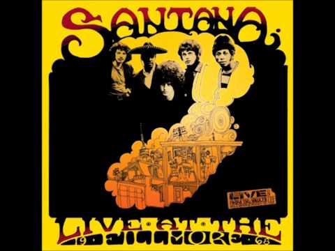 Santana - As The Years Go Passing By (Live At The Filmore 68')