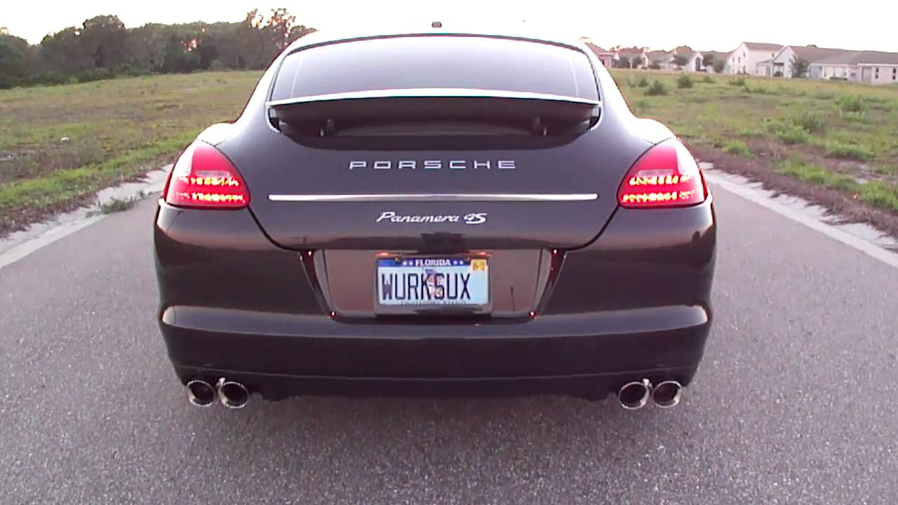 2011 porsche panamera 4s with awe tuning exhaust youtube. Black Bedroom Furniture Sets. Home Design Ideas