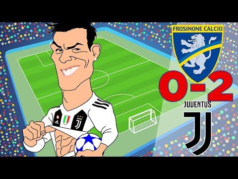 Frosinone Vs Juventus (0-2) Highlights Serie A 23/09/2018