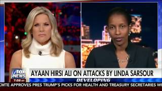 """Ayaan Hirsi Ali talks about Linda Sarsour's """"hate"""" for her as a woman"""