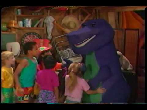 Barney The Backyard Show Original Version the backyard show (original) part 2 - youtube