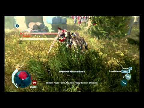 Let's Play Assassin's Creed 3 Episode 64: Spectacular Air Assassination!