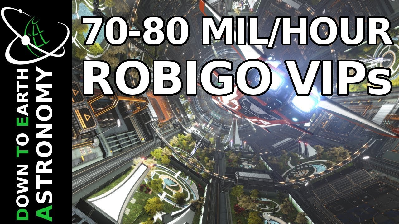 70 - 80 Mil/hour from Robigo VIP passenger missions | Elite Dangerous