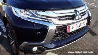 Mitsubishi montero sport 2016 test drive