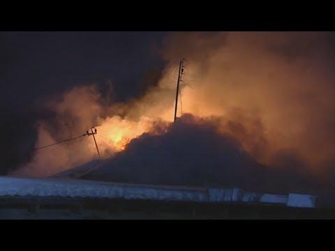 Городская изба сгорела без жертв.