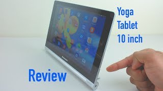 Lenovo Yoga Tablet 10 Review - 10 inch Android Tablet