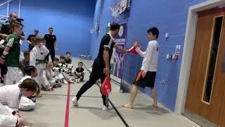 Todays Taekwondo Belfast Seminar 2018