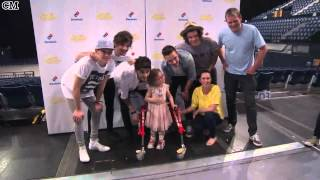 One Direction Shine at Exclusive Event for Seriously ill Fans [RusSub]