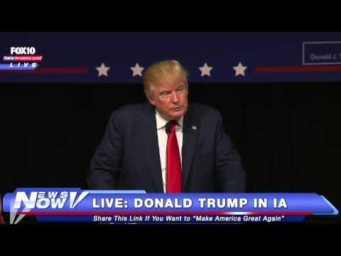 FNN: FULL Donald Trump Rally In Iowa