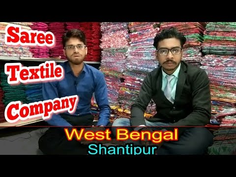 Direct 100% Cotton Saree Manufacturer & Wholesaler Textile Company in Santipur