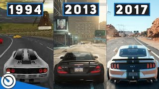 The Evolution Of Need For Speed (1994-2017) Эволюция серии Need for Speed с(1994 по 2017)