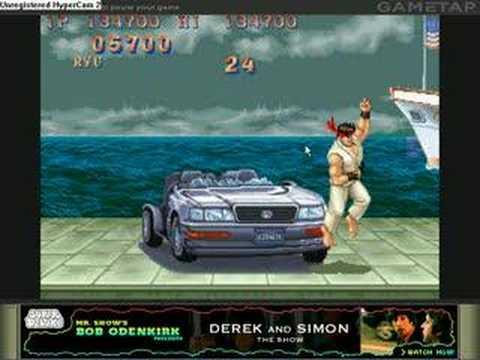 Street Fighter Ii Champion Edition Car Bonus Youtube