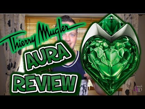 "NEW 2017!!! Thierry Mugler ""AURA"" Fragrance Review"