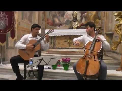 10 Strings Duo (guitar & cello) extract from recital in Rome