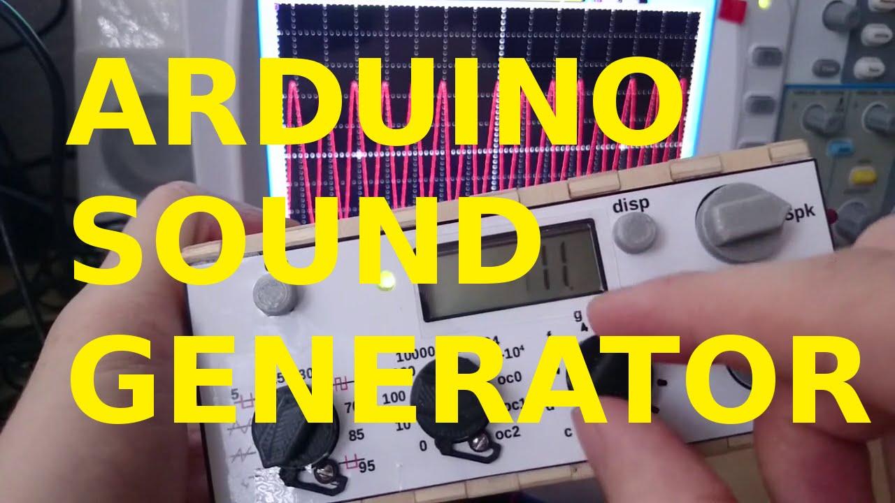 A feature-rich Arduino Waveform generator | Hackaday io