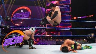 Akira Tozawa vs. Kalisto vs. Hideo Itami: WWE 205 Live, Jan. 22, 2019