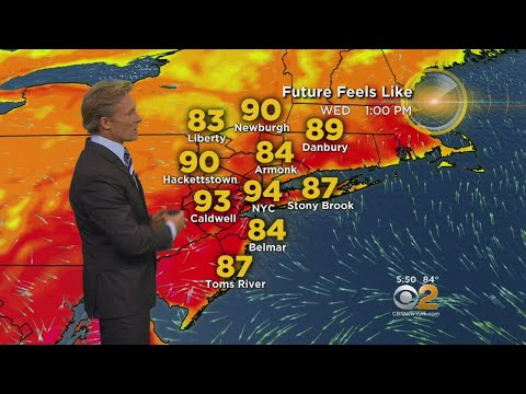 Humid End To The Work Week On Tap