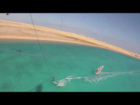 Safaga, Soma Bay, 2010, On-Board Camera, Kiteboarding, Windsurfing
