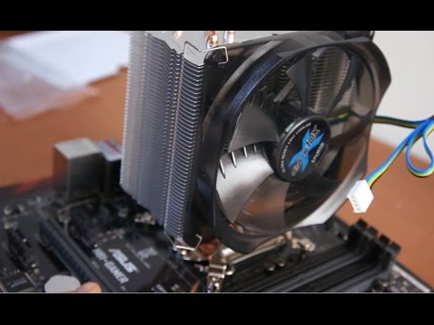 ZALMAN CNPS10X Optima installation, review, Intel i7 4790K OC 4800 Mhz