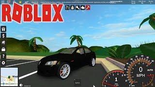 Roblox: Ultimate Driving ilhas Westover-novo carro GRÁTIS sedan esportivo!!!