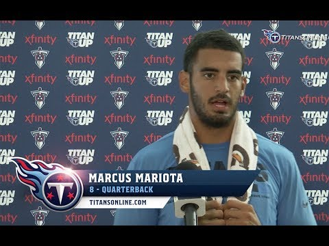 Marcus Mariota: Guys are Flying Around