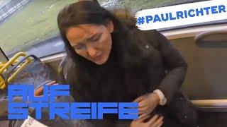 Bus fährt Schlangenlinien: Wird es eine Geburt im Bus? | #PaulRichterTag | Auf Streife | SAT.1 TV