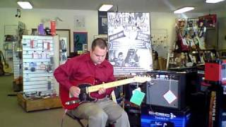 Jims Music Real Guitar Hero Contest Test