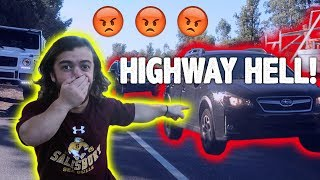 I Wrecked On The Highway!!!