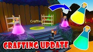 Neues Crafting Update!! & Alle Trank Handwerk Rezepte | Unboxing Simulator!! [Roblox]