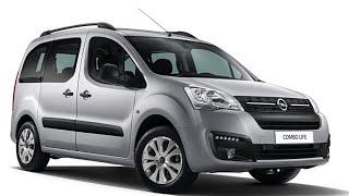 Авто обзор -Opel Combo Life –переднеприводный компактвэн, созданный специально для...