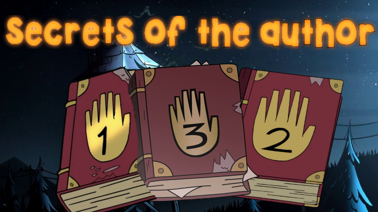 Gravity Falls Secrets Of The Author In Season 2