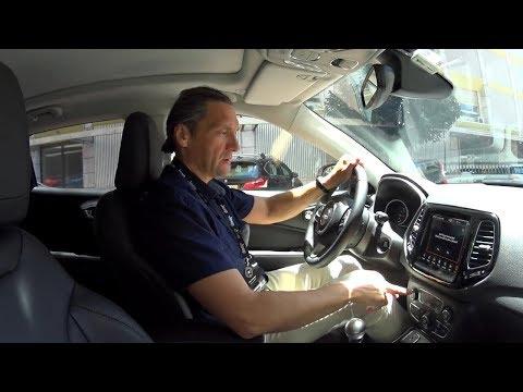 Кроссовер Джип Компас   Jeep Compass тест-драйв Автопанорама
