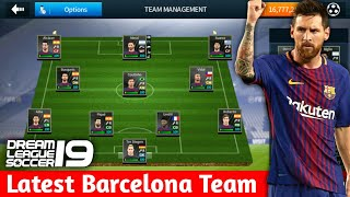 How to create latest fc barcelona team kits logo players in dream league soccer 2018 full tutorial with android and ios gameplay. 2018-2019...