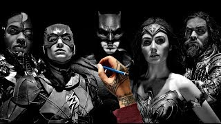 Drawing the Justice League